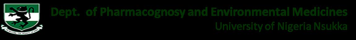 pharmacognosyandenvironmentalmedicines